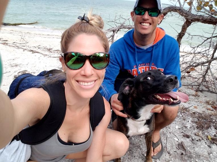 beach with ginnie cayo
