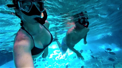 grotto snorkeling
